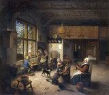 A.van Ostade, Peasant Family.