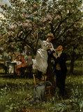 P.Merwart / Amour / Painting