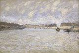 A.Sisley, La Seine a Paris, 1870.