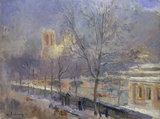 A.Lebourg, Notre-Dame de Paris.