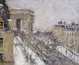 G.Loiseau, L'Arc de Triomphe, Paris
