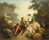 J.Huet, The Dove's Nest, 1785.