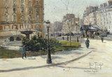 A.Truchet, La Place Pigalle.