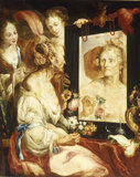 B.Strozzi, Allegory of Vanity.
