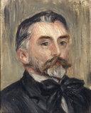 P.A.Renoir, Portrait De Stephane...
