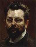 M.Slevogt, Self-Portrait, 1906.