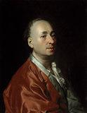 D.Levitzky, Portrait of Denis Diderot.