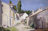G.Caillebotte, Chemin a Yerres', c.1879.
