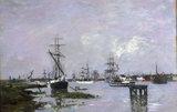 E.Boudin, Anvers, c.1871-74.