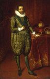 P.van Somer, Portrait of James I...