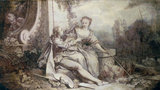 F.Boucher, Pastorale a la Guirlande,1742