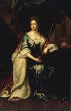 J.van der Vaart, Portrait of Mary II.