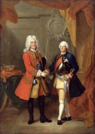 Augustus II & Frederick William I / 1720
