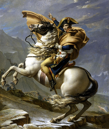 Napoleon in the Alps / David / 1800