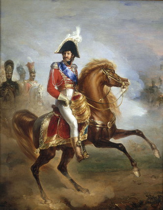 Joachim Murat/Equestr.Portr./J.P.Franque