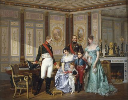 Empress Josephine a. Alexander I / Viger