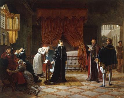 Mary Stuart Death sentence / Vermay