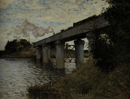 Claude Monet/Railway Bridge at Argent.