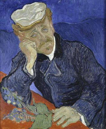 Van Gogh / Dr Gachet with foxglove