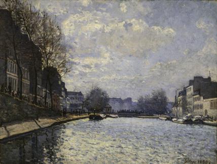 A.Sisley / Saint-Martin Canal / 1870