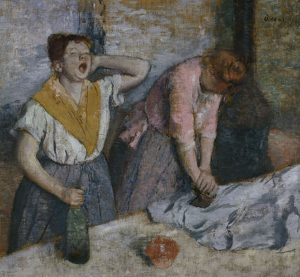 Edgar Degas / The Laundresses /c.1884-86
