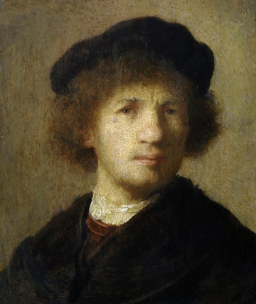 Rembrandt / Self-portrait / c. 1630