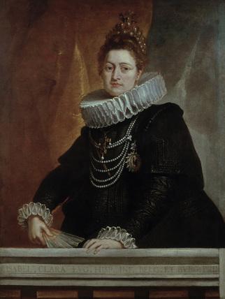 Isabella Clara Eugenia / Rubens Painting