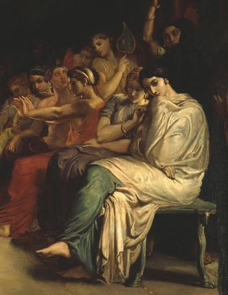 Theodore Chasseriau, Tepidarium / DETAIL