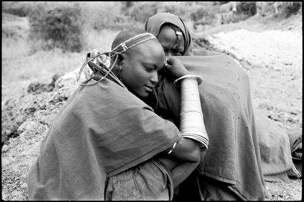 Maasai couple