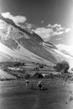 Thesiger's party in the Yarkhun valley