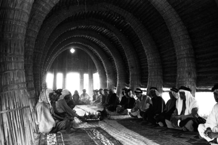 Interior of mudhif