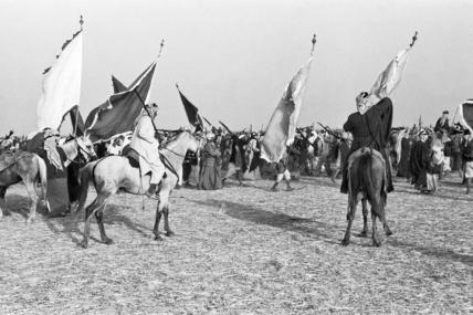 Al Essa men celebrating the festival of Eid