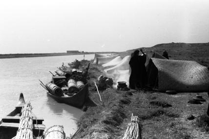 Feraigat encampment on the River Tigris