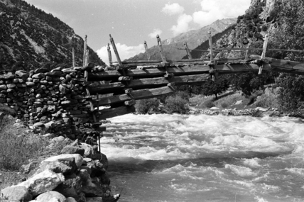 Bridge in the Kamdesh valley