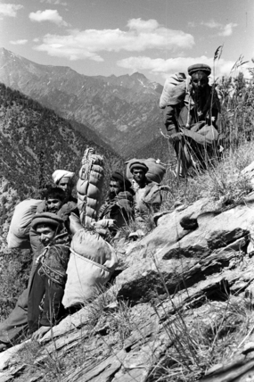 Thesiger's porters