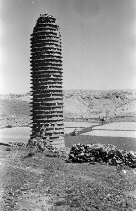Mud watch-tower