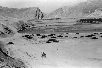 Encampment in the Mughab valley