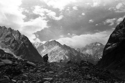 Karambar glacier in the Ishkoman valley