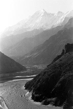 River in the Karakoram mountains