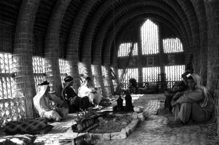 Mudhif interior