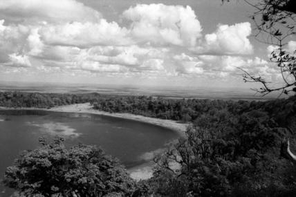 Crater landscape