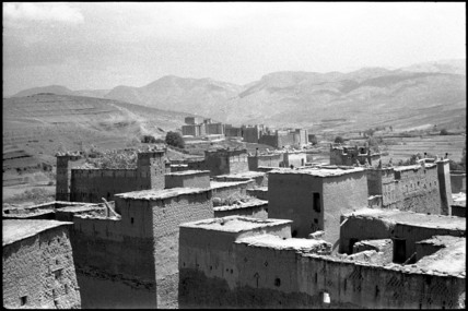 Kasbahs in the High Atlas Mountains