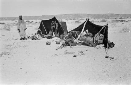 Saar encampment