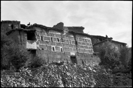 Houses on Jebel Toubkal