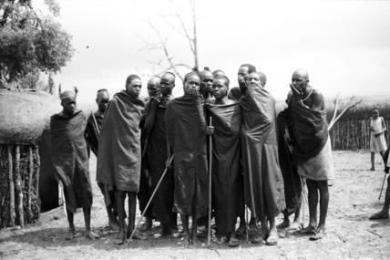 Samburu initiates