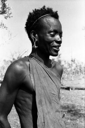 Portrait of a Samburu man
