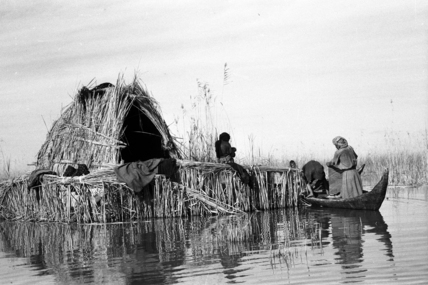 House at a settlement in the Marshes