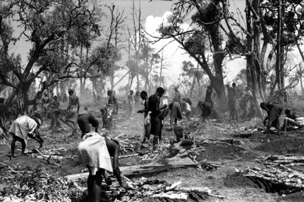 Samburu circumcision fire