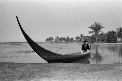 Hasan bin Manati in Thesiger's tarada