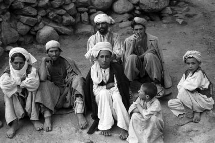 Nuristani men and boys
